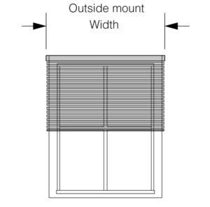 Outside Mount